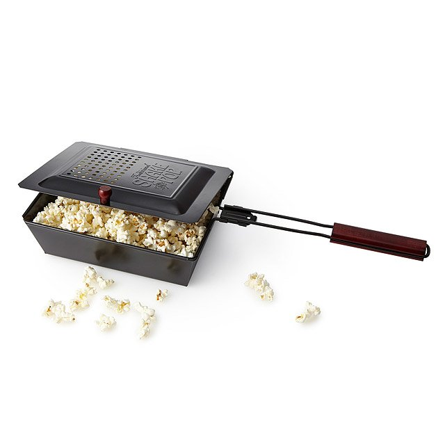 Outdoor Popcorn Popper | UncommonGoods