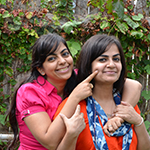 Rachna and Ruchika Kumar