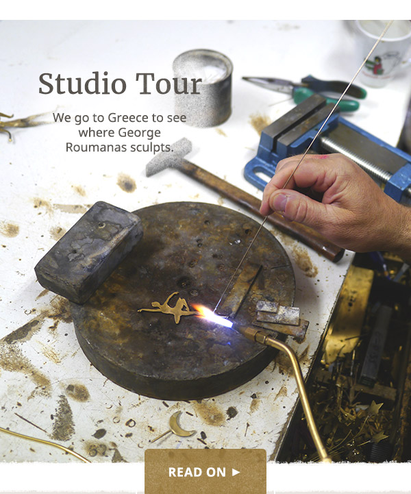 George Roumanas Studio Tour