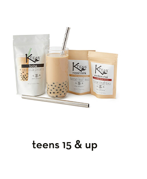 Shop for teens 15 & up