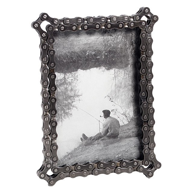 Bike Chain Frame | Bicycle Chain Picture Frame | UncommonGoods