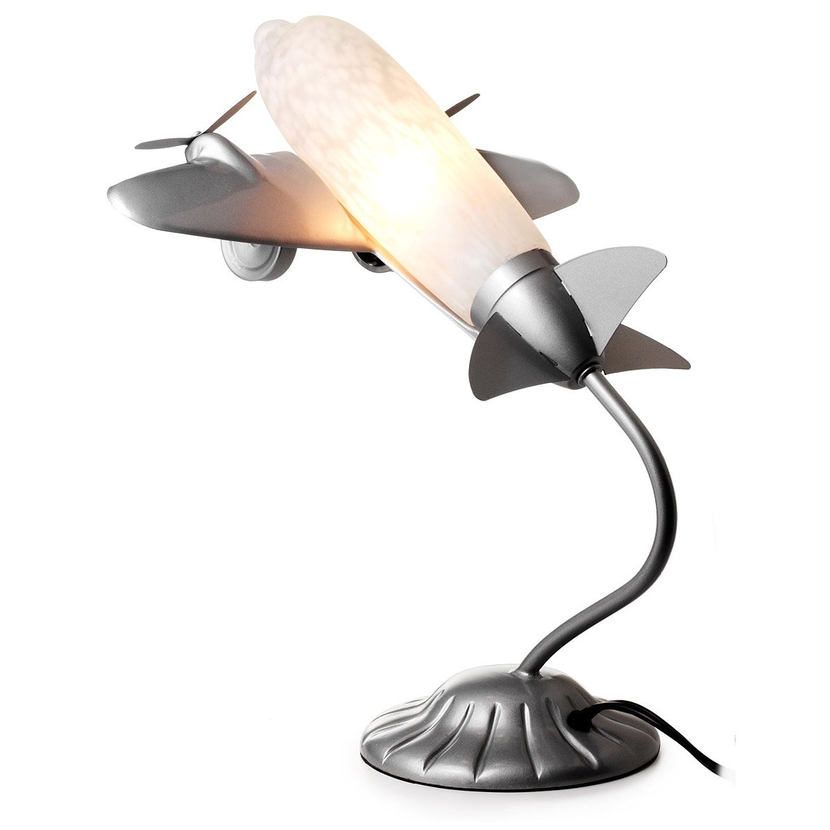 Airplane Lamp 1 thumbnail - Airplane Lamp Plane Desk Lamp For Kids And Adults UncommonGoods