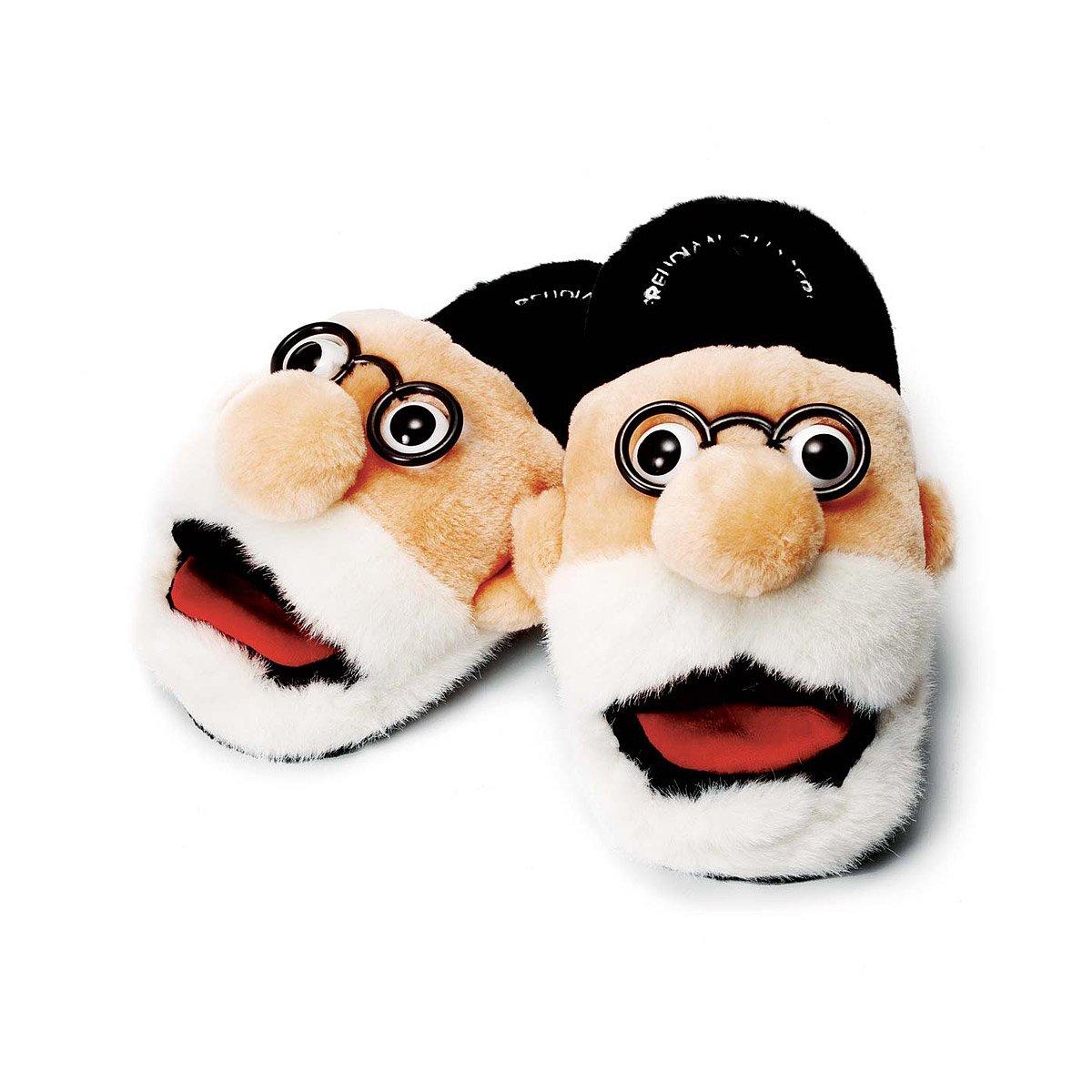 Sigmund Freud Freudian Plush Slippers Go41t