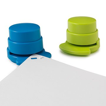 Staple-less Staplers - Set of 2