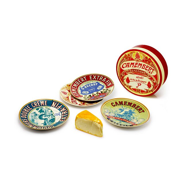 Fromage Cheese Plates -  Set of 4