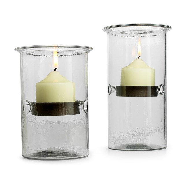 Hurricane Candle Holders Sleek And Functional Glass And Metal