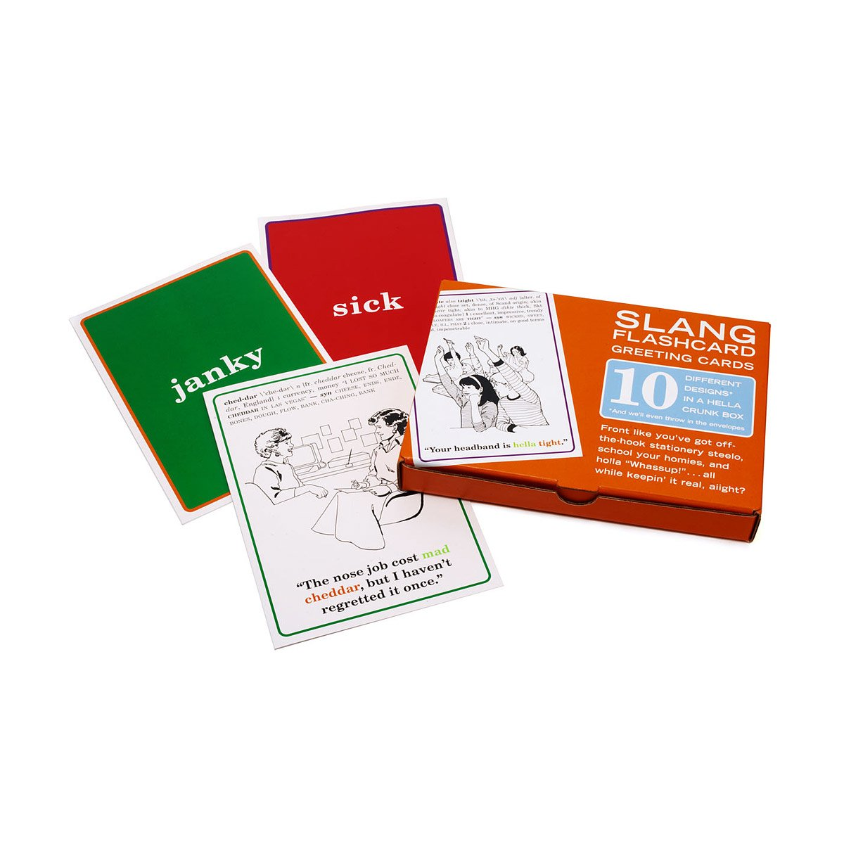 Slang Greeting Cards Uncommongoods