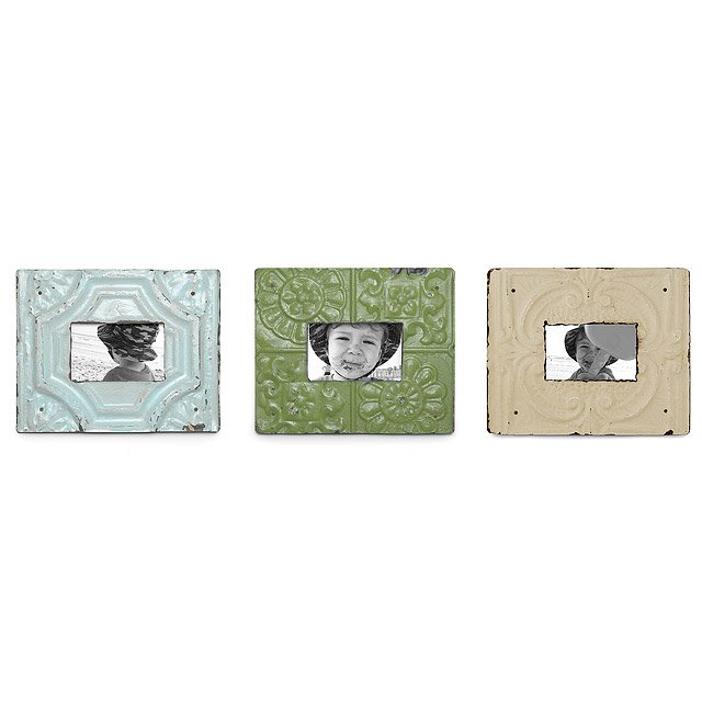 reclaimed tin frames - Unique Picture Frames