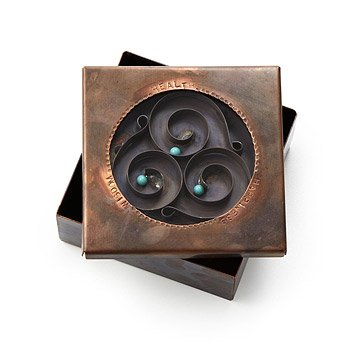 Health, Happiness, Wisdom Reliquary Box