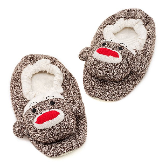 3af1ca58ace Adult Sock Monkey Slippers