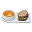 Soup And Sandwich Ceramic Tray Duo 2 thumbnail