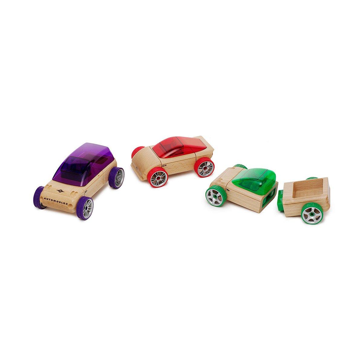 Automoblox | Automoblox Interchangeable Wood Car Parts Educational