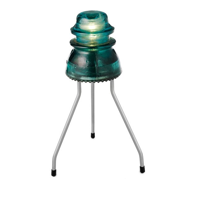 Recycled Insulator Lamp
