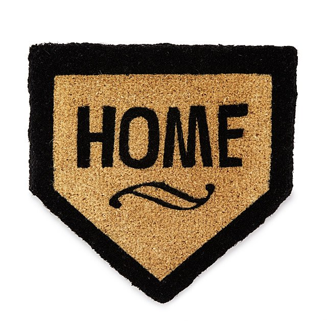 Home Plate Doormat Mat Baseball Sports Uncommongoods