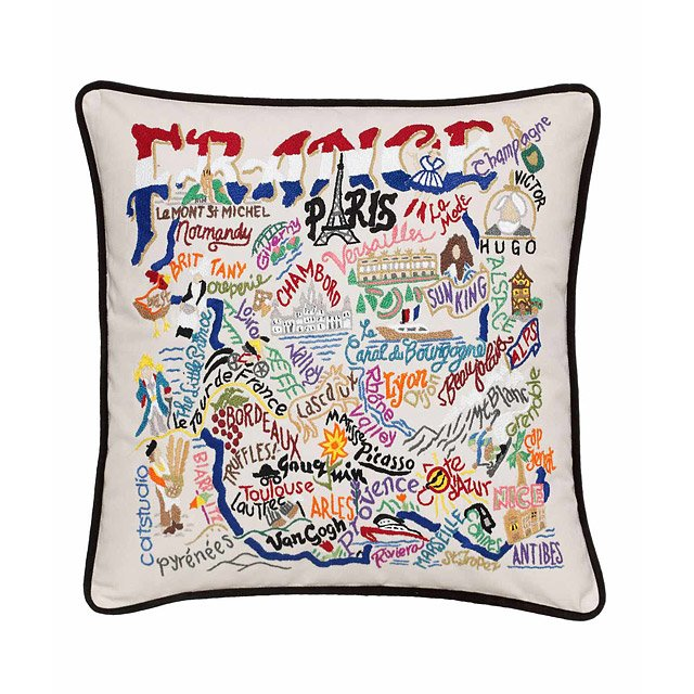 Hand Embroidered Country Pillows 2