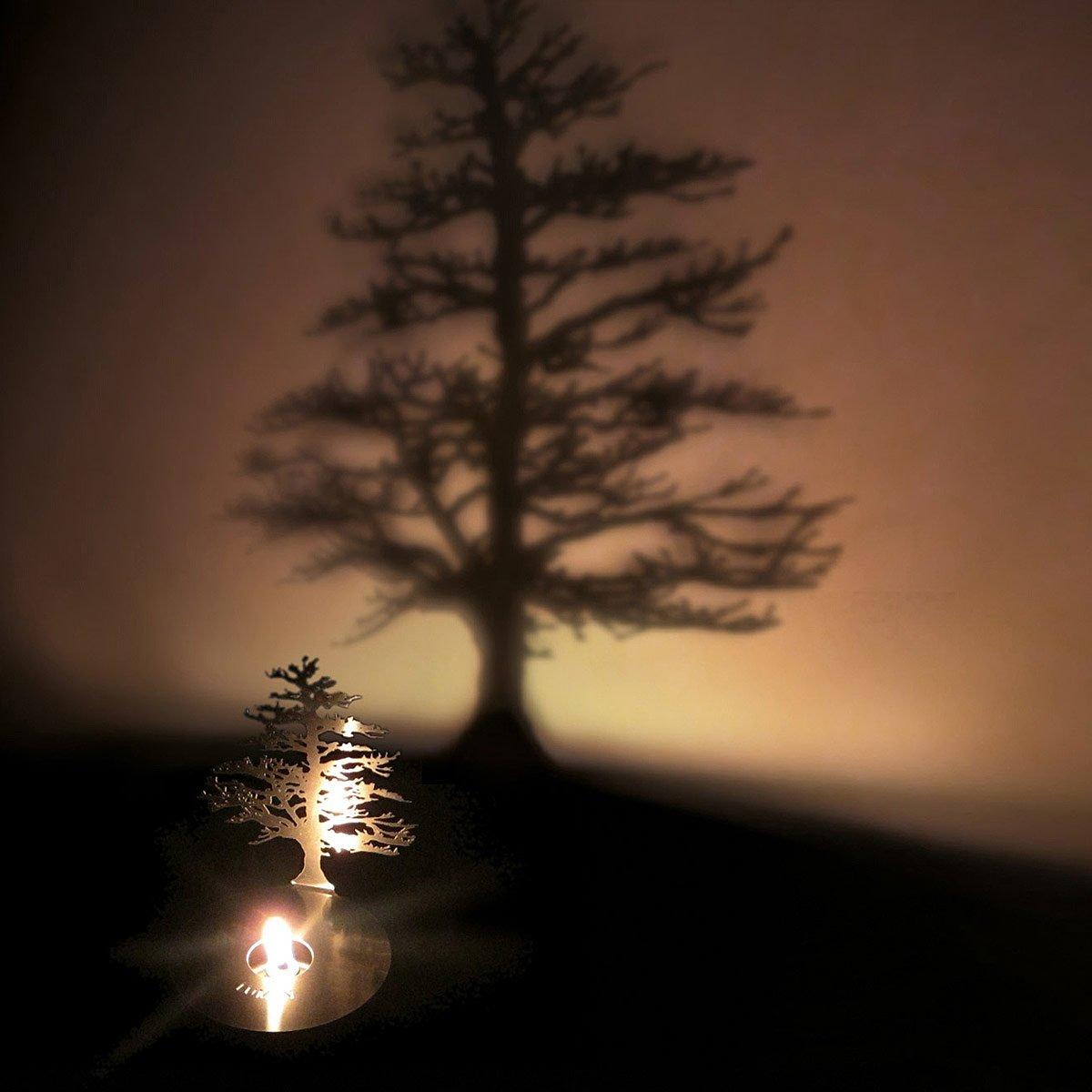 Lumen Oil Candle Shadow Projectors   oil lamp, tree shadow ... for Tree Shadow Lamp  113cpg