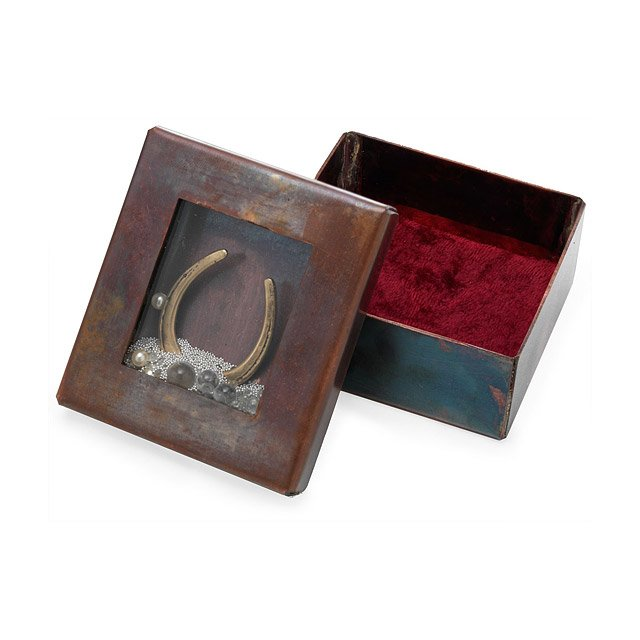 Horseshoe Reliquary Box
