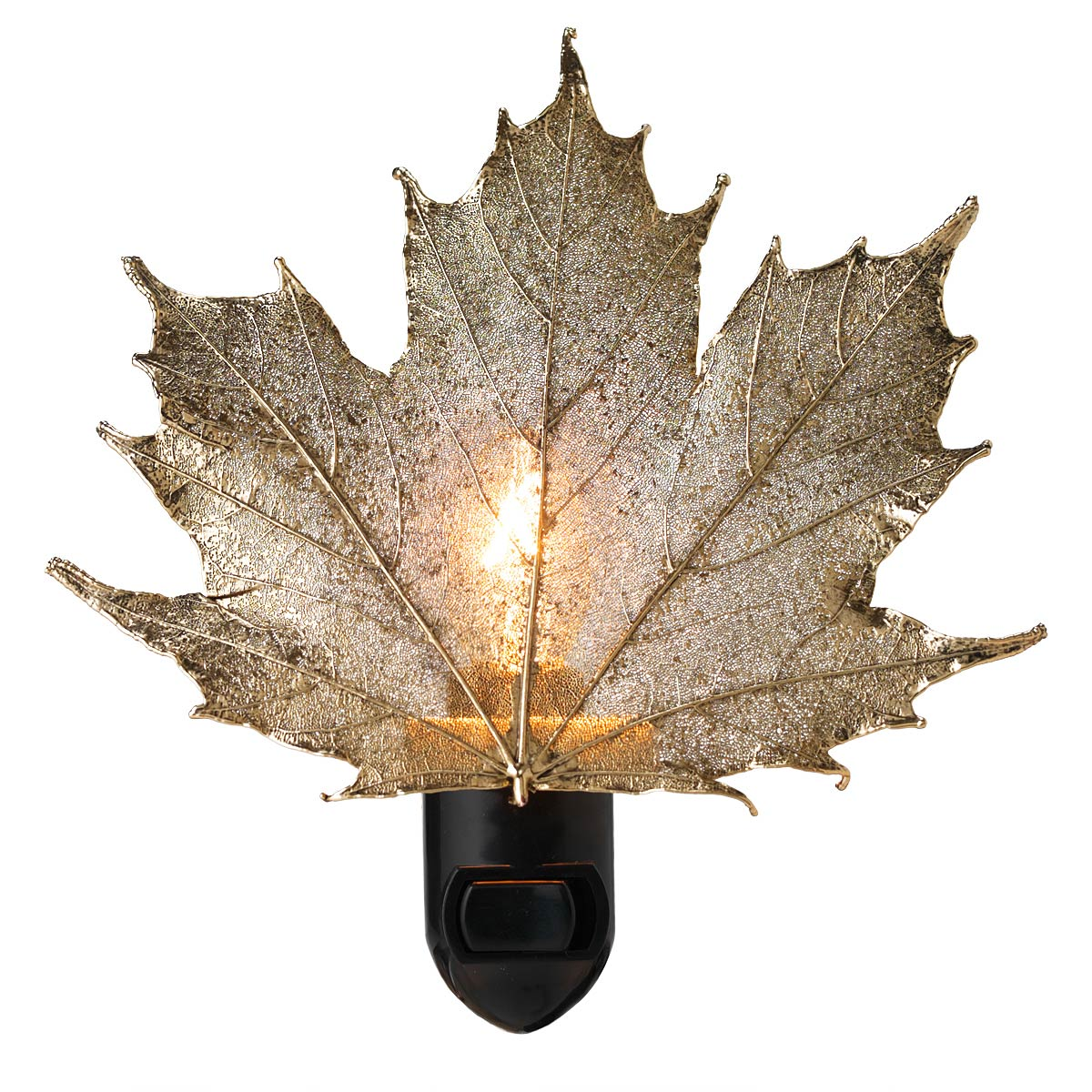 Real Sugar Maple Leaf Night Light 1 thumbnail  sc 1 st  UncommonGoods & Real Sugar Maple Leaf Night Light | Night Light of Leaves ... azcodes.com