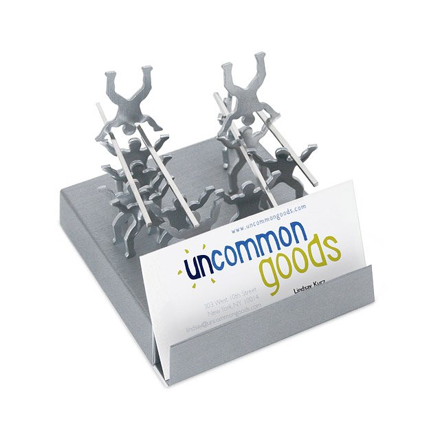 Teamwork Magnetic Card Holder Hold Business Cards Build Teamwork