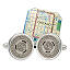 Subway Token Cufflinks 6 thumbnail