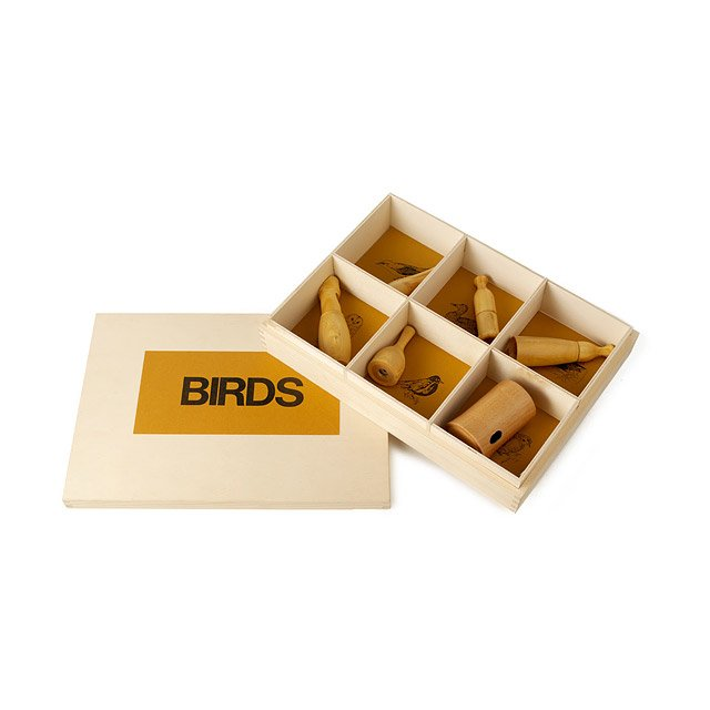 Western American Birdcalls - Set of 6