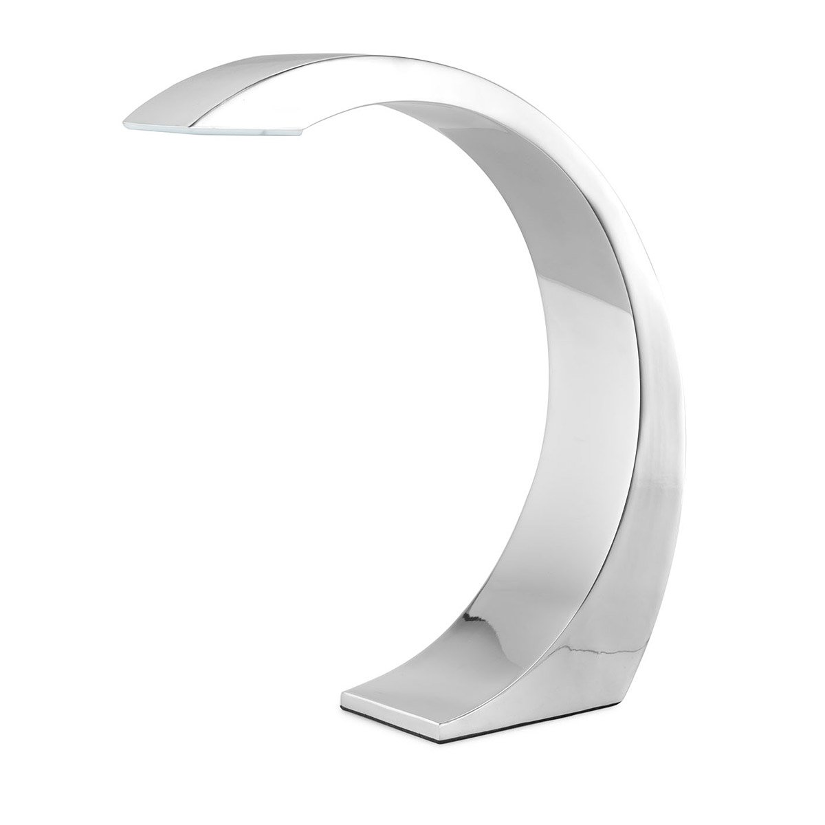 Curve Touch Lamp | Touch-on, Touch-off Lamps, Chrome, Arched C ...