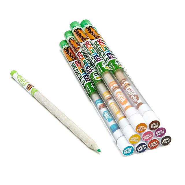 Colored Smencils - Set of 10