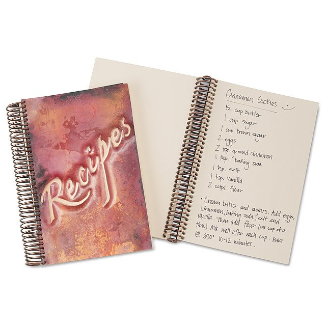 Copper Recipe Journal