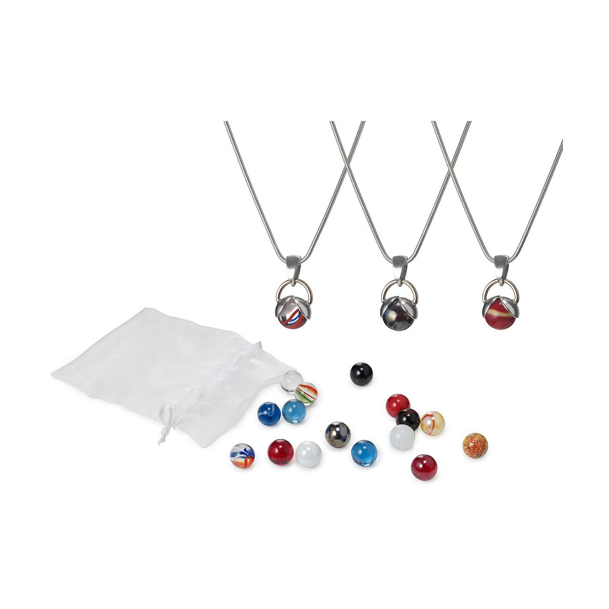 Interchangeable marble necklace interchangeables marbles necklaces interchangeable marble necklace 1 thumbnail aloadofball Image collections