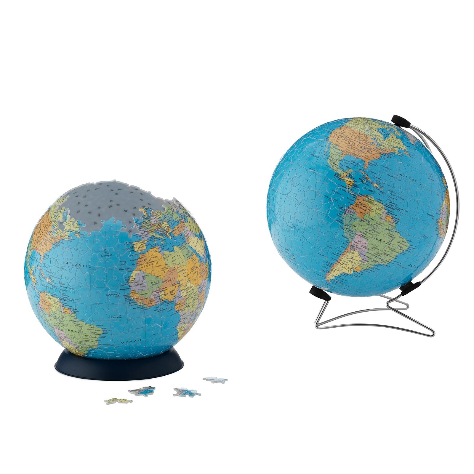 Puzzle ball the earth 3d globe puzzle world map puzzleball puzzle ball the earth 1 thumbnail gumiabroncs Choice Image