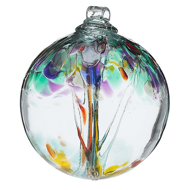 Recycled Glass Tree Globes - Wishes 4