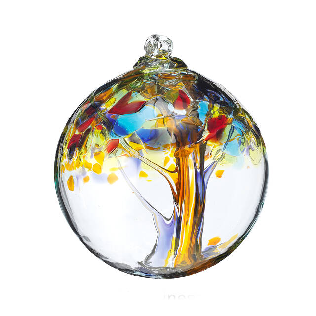 Recycled Glass Tree Globes - Wishes 5