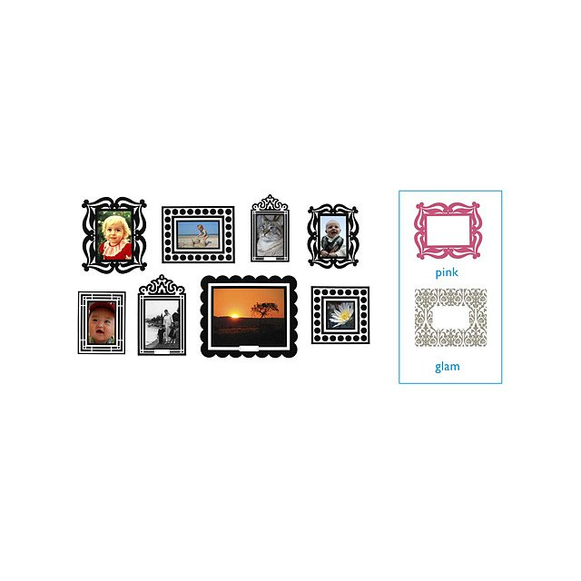 Sticker Frames | Stickr Frames, Romantic, Baroque, Ornate, Black ...