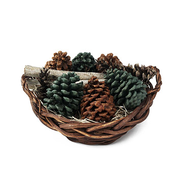 Copper Mountain FireCone Basket
