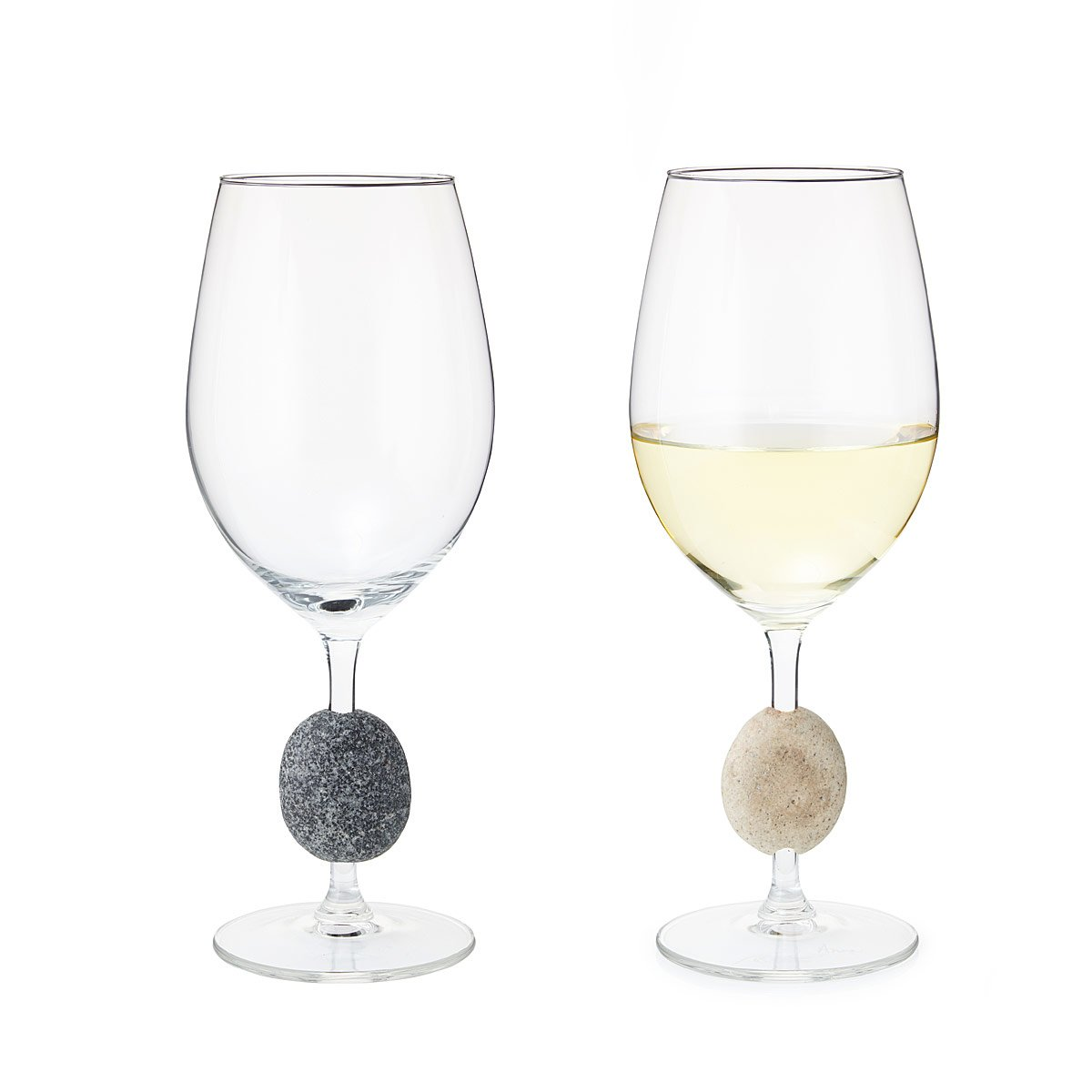 7 Deadly Sins Wine Glasses Sea Stone Wine Glasses Set Of 2 Rocks Stones Wines Glass