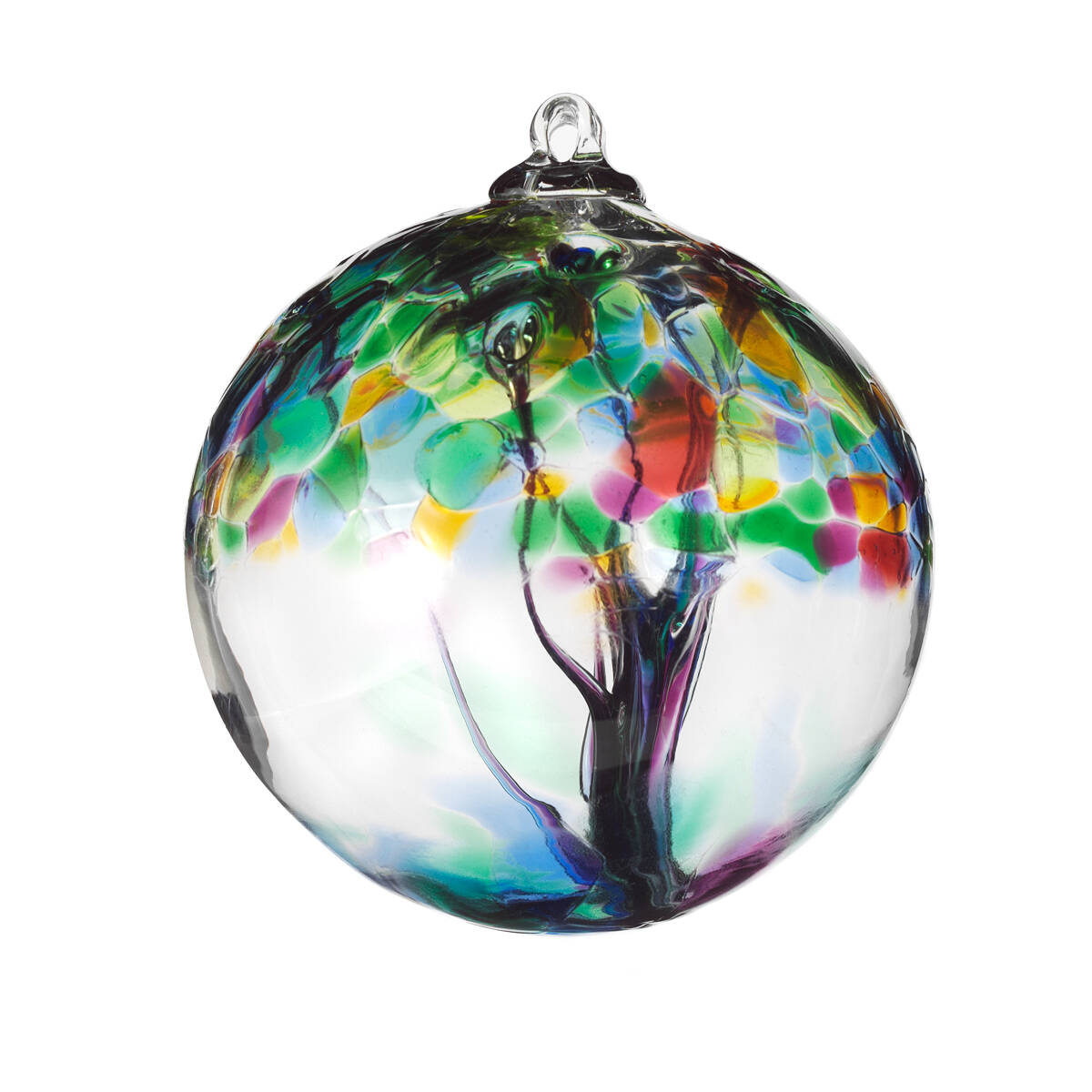 Glass globe ornaments - Recycled Glass Tree Globes Relationships 3 Thumbnail