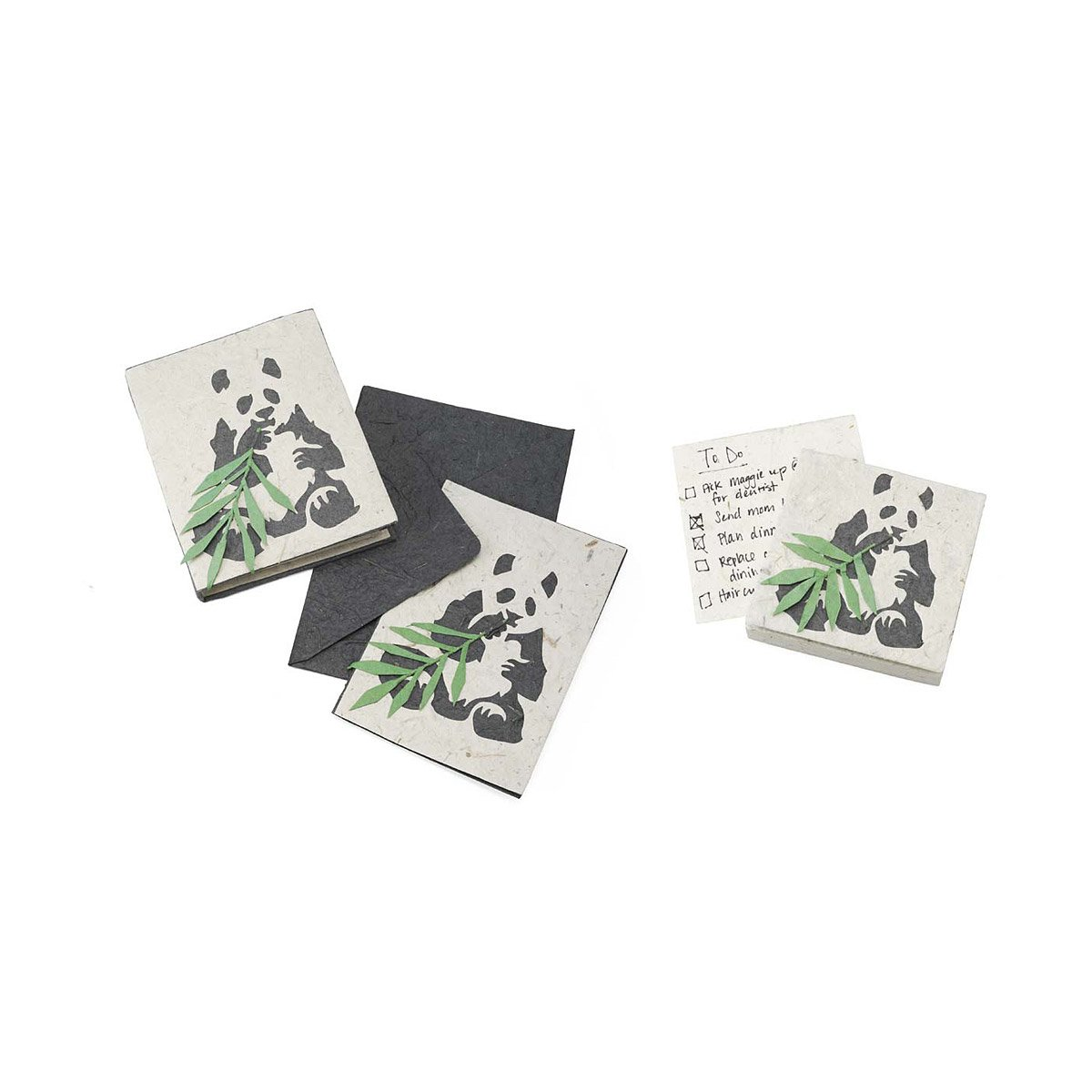 Panda Poo Paper Panda Poop Papers Notepad Journal Greeting