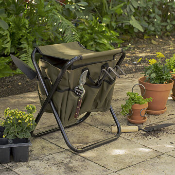 Great Gardeneru0027s Tool Seat