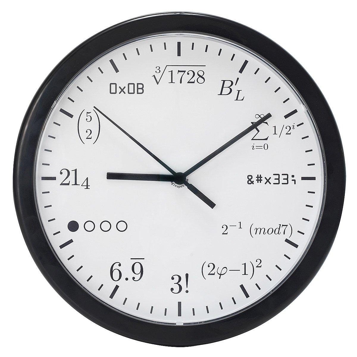 worksheet Clock Math geek clock math formula for geeks uncommongoods 1 thumbnail