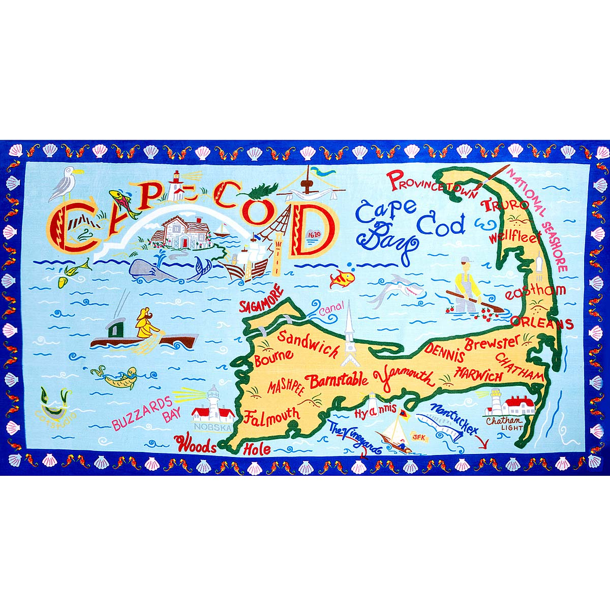 Destination Beach Towels  Cape Cod Nantucket Hamptons Jersey