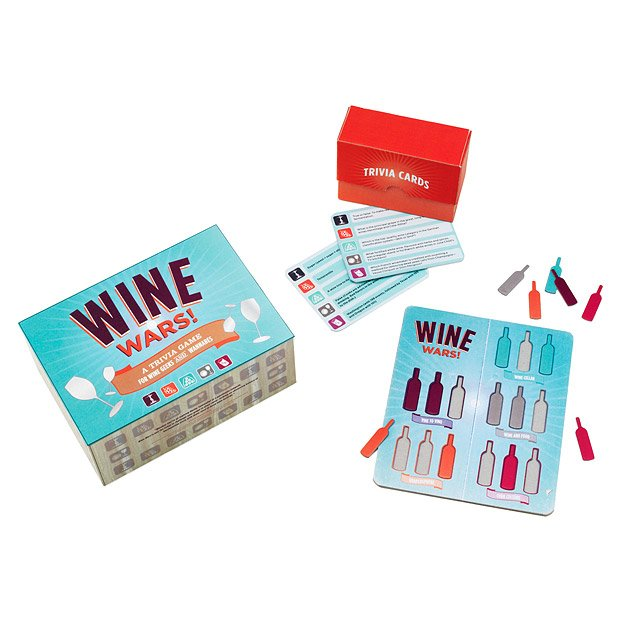 Wine Wars Trivia Game