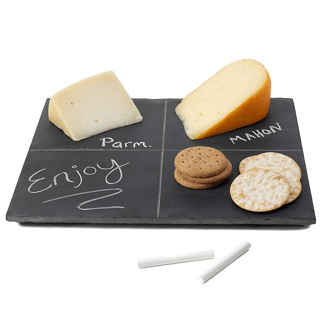 reclaimed slate cheese board with handles set nz