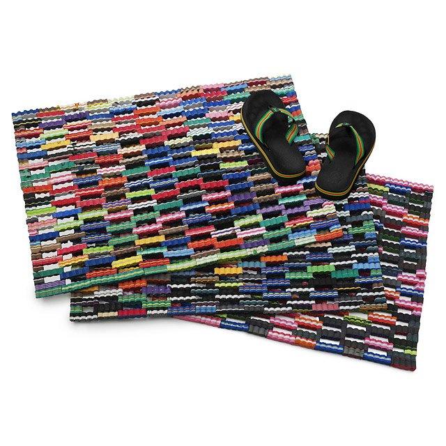 Flip Flop Mat Recycled Rubber Doormat