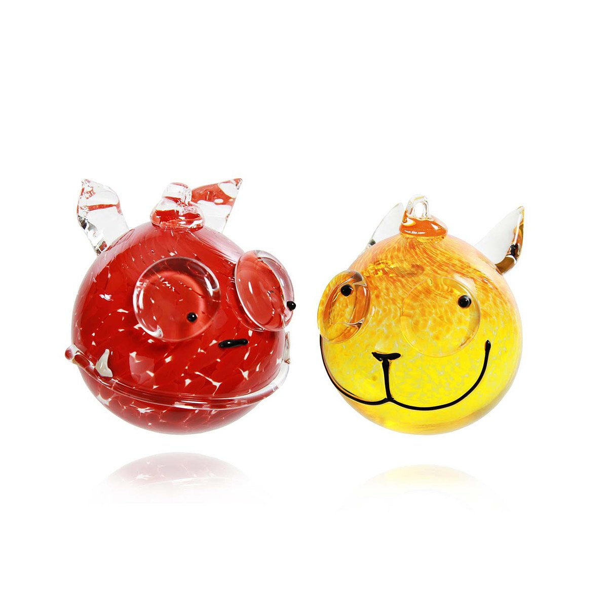 Glass animal ornaments - Glass Animal Ornaments 1 Thumbnail