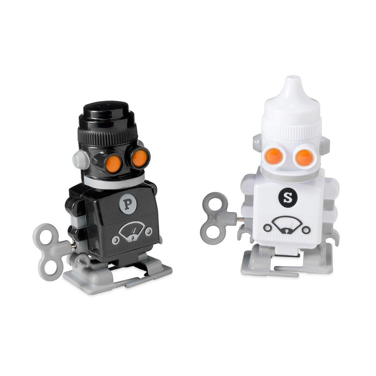 Wind Up Salt and Pepper Robots Robot Salts Pepper Wind Up