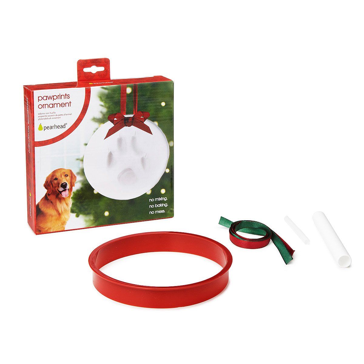 Pet Print Ornament | paw print, dog ornament, christmas ornament ...