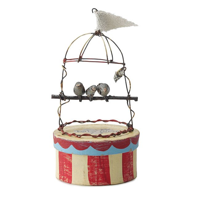 Baby Bird Treasure Box