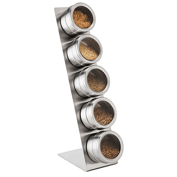 Magnetic Artisan Salt and Spice Rack