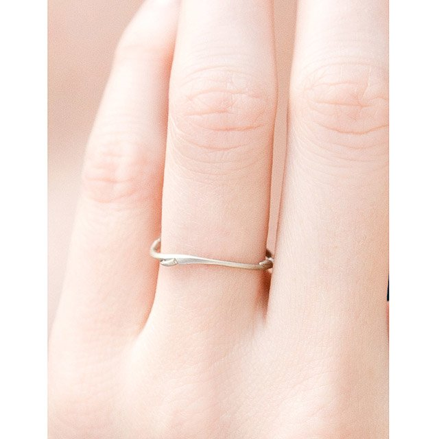 Willow Stackable Wedding Rings 5