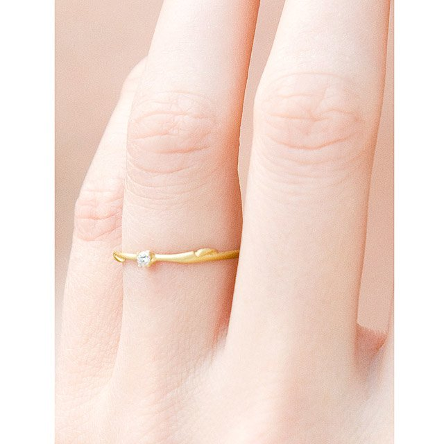 Willow Stackable Wedding Rings 6